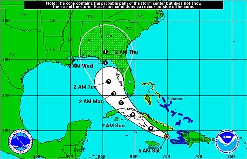 Tormenta tropical Erika deja fuertes lluvias y vientos a su paso por Haití