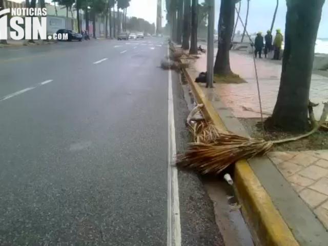 Meteorología descontinúa aviso de condiciones de tormenta tropical; cinco provincias bajo alerta
