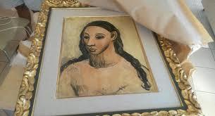 Interceptan una obra de Picasso inexportable que viajaba a Suiza