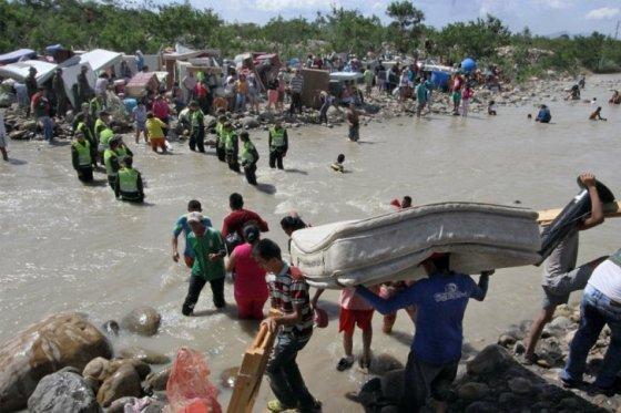 La OEA enviará ayuda humanitaria a la frontera colombiana con Venezuela