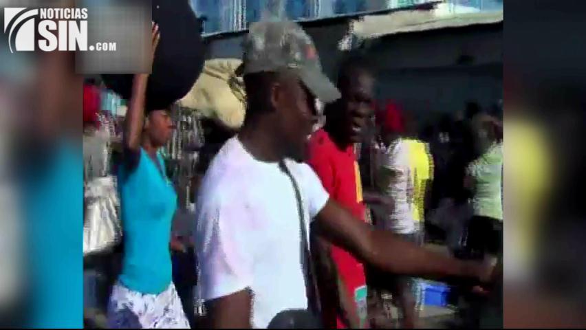 Haitianos amenzan con actos agresivos de no recibir pago