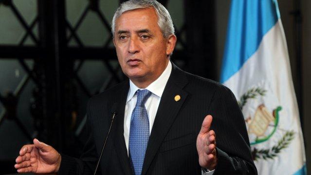 Congreso de Guatemala retira la inmunidad al presidente Otto Pérez Molina