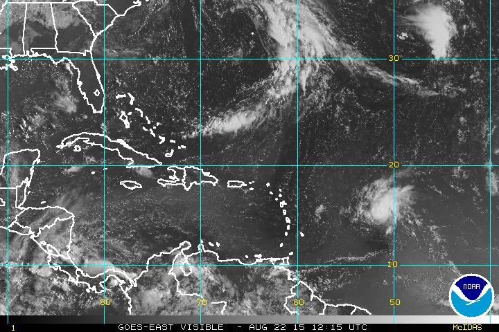 Onamet pronostica chubascos aislados; huracán está a 1,195 KM de Antillas Menores