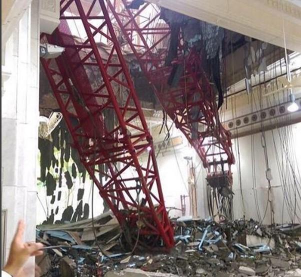 Al menos 60 muertos al caer una grúa en la mezquita de La Meca