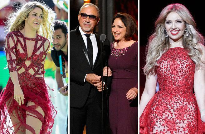 Shakira, Thalia, y Gloria Estefan cantarán una canción contra Donald Trump