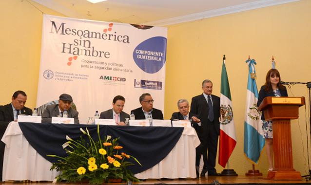 RD se suma al programa Mesoamérica sin Hambre