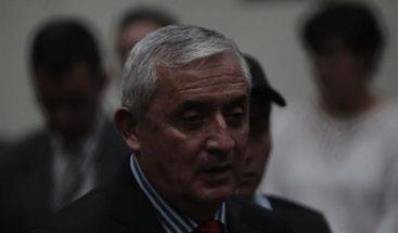 Juez de Guatemala dicta prisión provisional para expresidente Pérez Molina