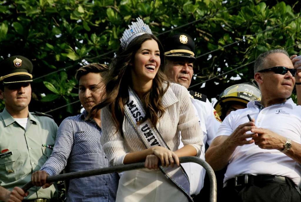 Miss Universo protagoniza el vídeo