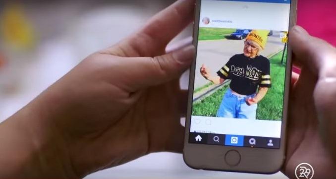 Conoce la abuela que ha causado sensación en Instagram