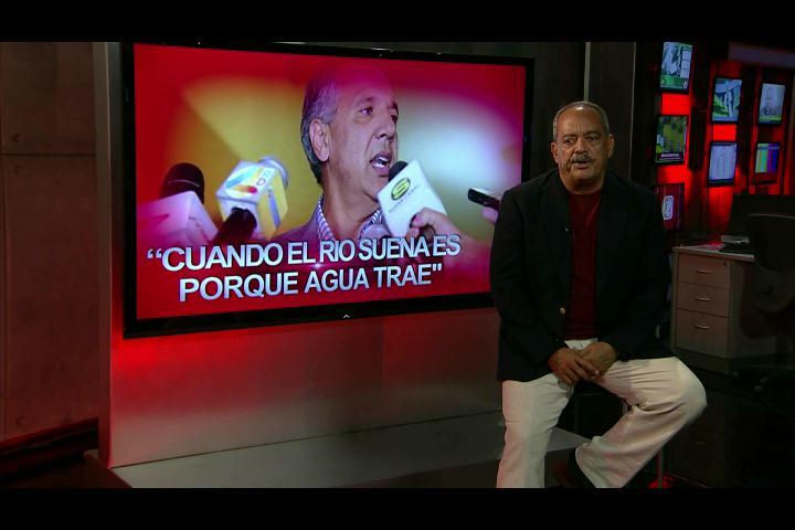 """Alfonso Rodríguez: """"Cuando el rio suena es porque agua trae"""""""
