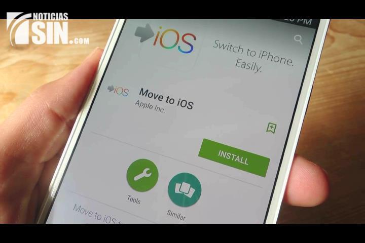 Conozca la app oficial de Apple para transferir datos desde Android a iOS