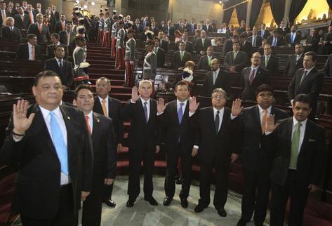 Junta Directiva del Congreso de Guatemala se reúne por renuncia presidencial