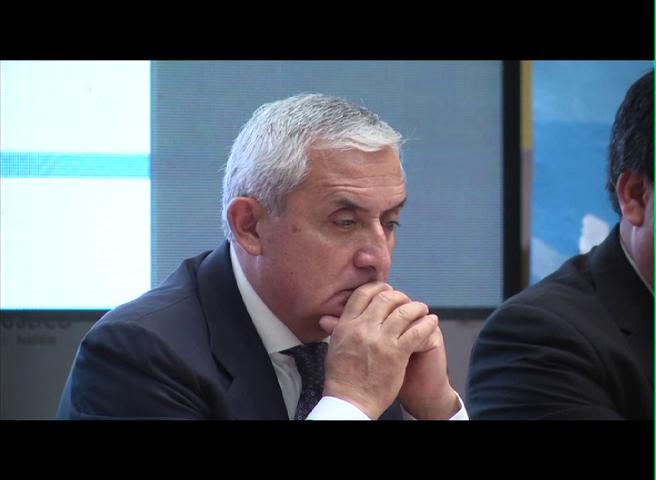 Expresidente Pérez Molina dice estar frustrado con la Justicia de Guatemala
