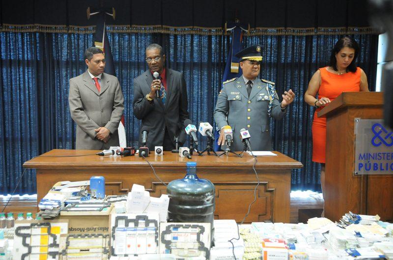 PN apresa organización criminal dedicada a falsificación de medicamentos