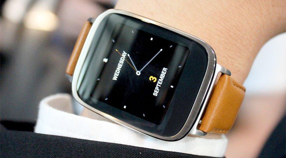 El reloj inteligente de Asus, Zenwatch 2, costará 167 dólares