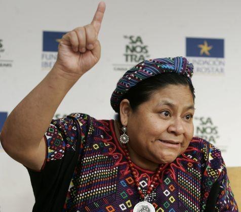 Rigoberta Menchú dice que el único destino de Pérez Molina es la cárcel