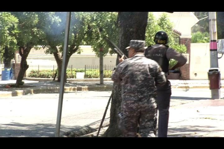 Retorna la calma a la UASD luego de fuertes enfrentamientos