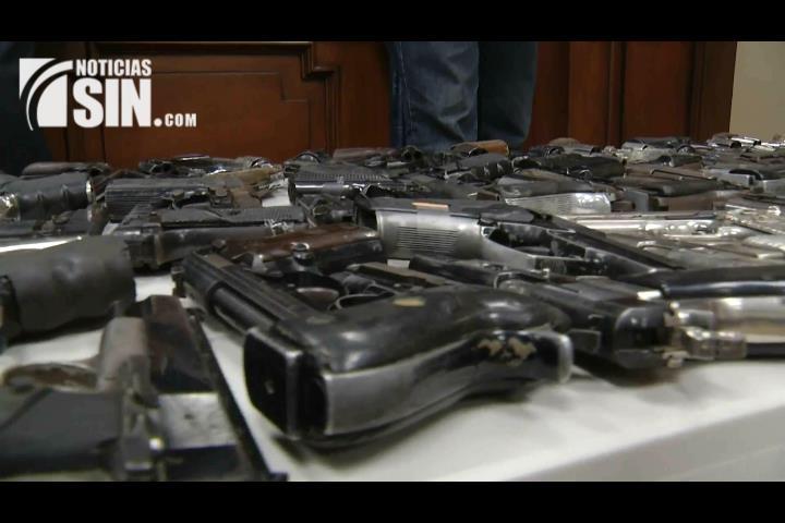 Legisladores exigen desarme gradual de la población ante últimos hechos delictivos