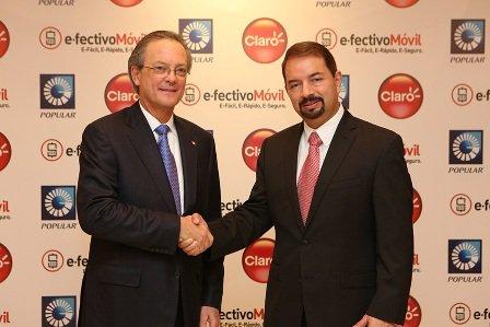 """Claro y Banco Popular presenta """"e.fectivo Móvil"""""""