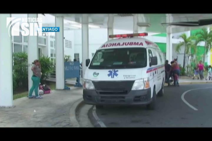 Pacientes con síntomas de dengue abarrotan hospital Arturo Grullón
