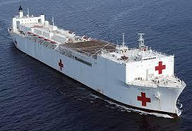 EEUU envía barco hospital a Haití e invita a médicos cubanos a visitar buque