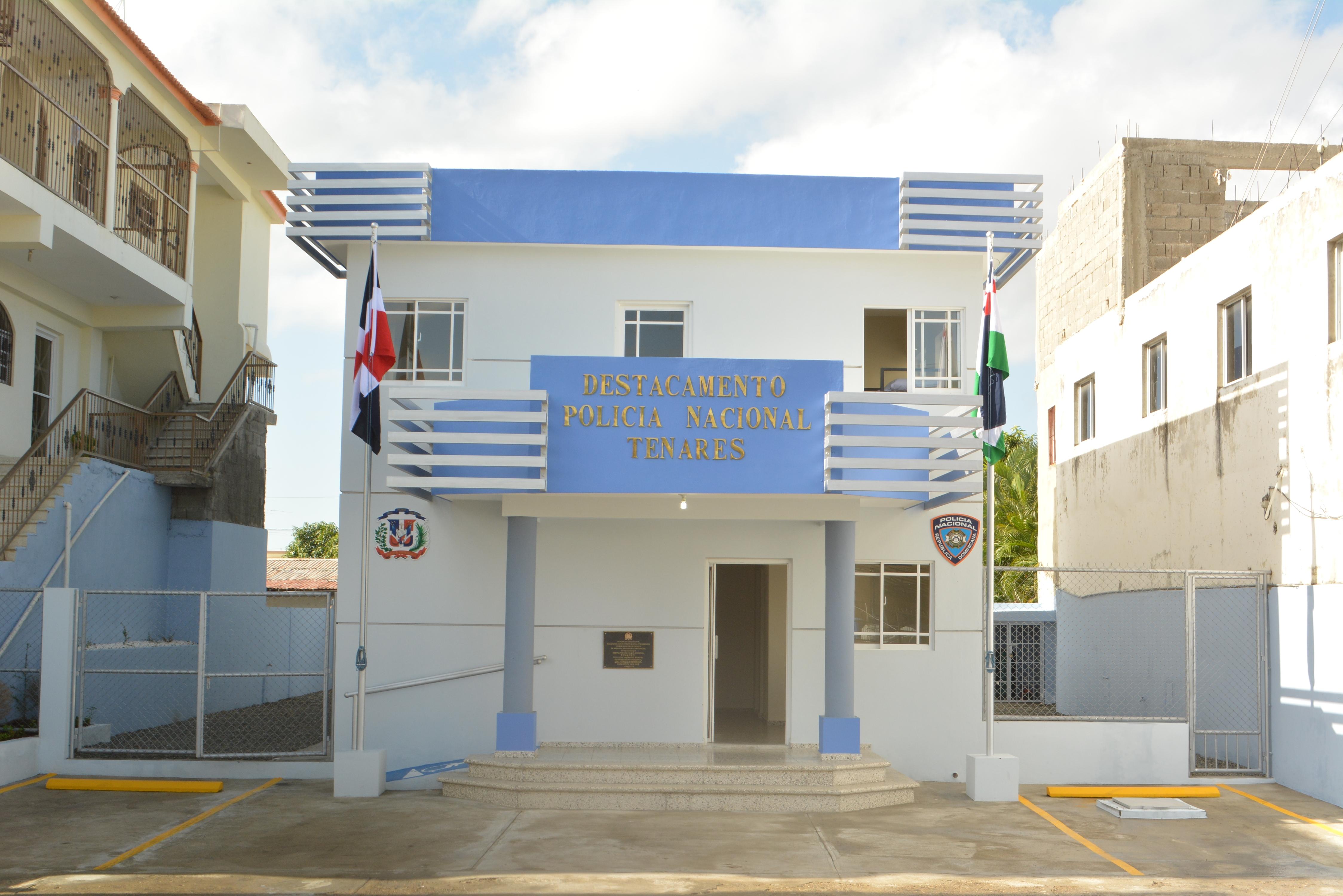 Gobierno entrega destacamento policial en provincia Hermanas Mirabal