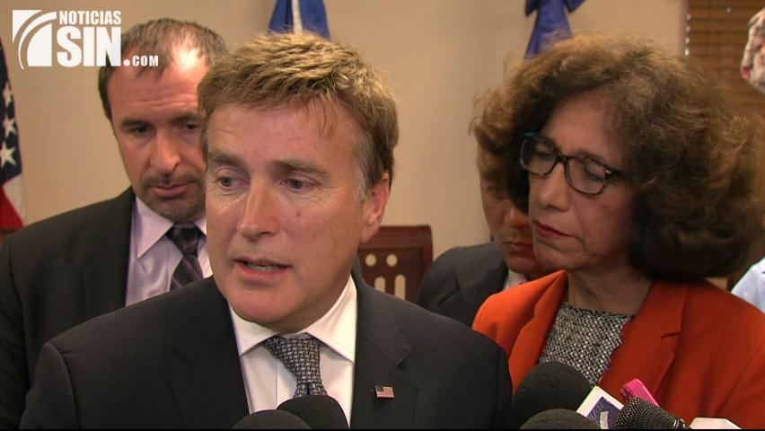 Embajador EEUU: Es competencia de autoridades RD confiscar o devolver bienes a extraditados