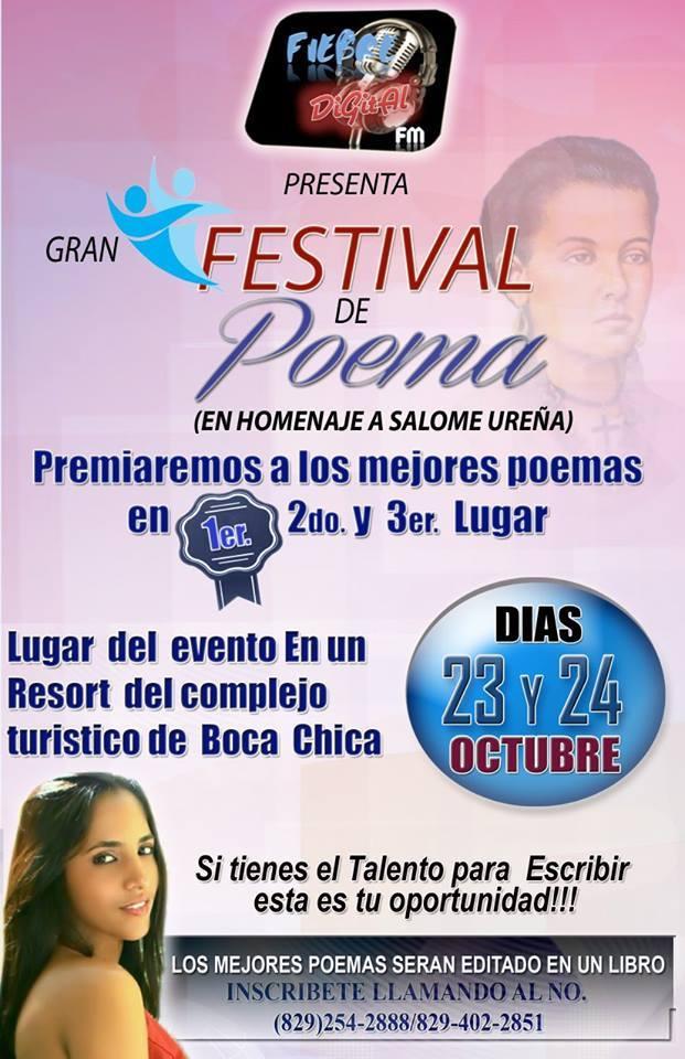 Anuncian festival de poesía en honor a Salomé Ureña de Henríquez