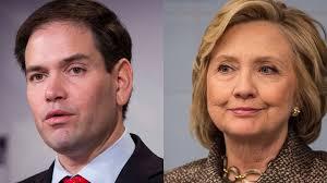 Clinton y Rubio viajan a Puerto Rico para recaudar dinero para sus campañas