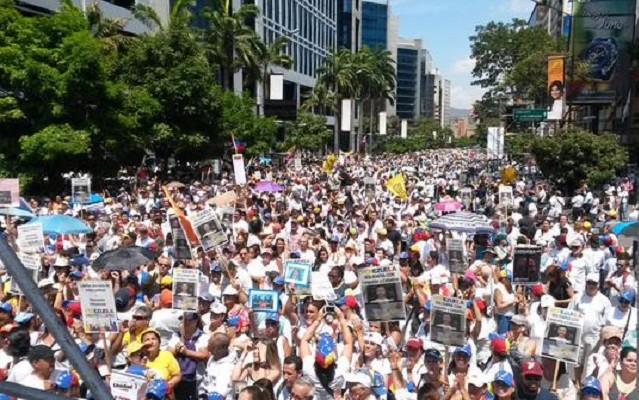 Marcha convocada por López será a nivel nacional, dice oposición venezolana