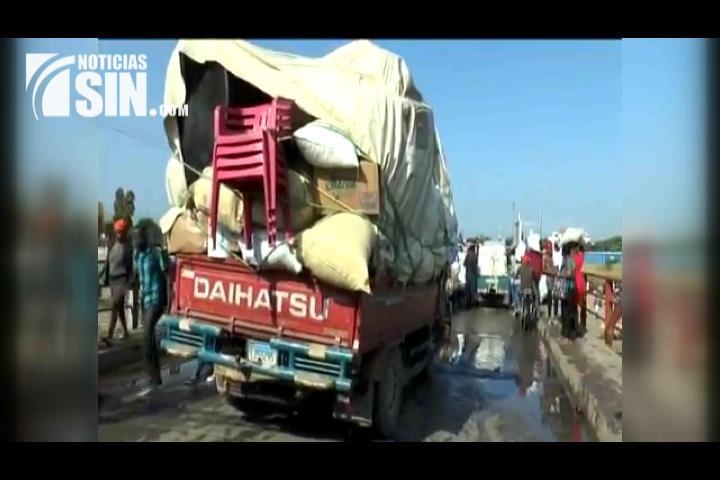 Comerciantes de la zona fronteriza en contra de prohibición del gobierno haitiano a productos de RD