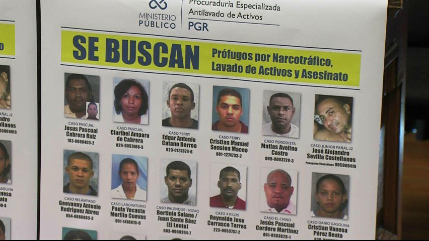 Ministerio Público presenta lista de las personas más buscadas del país