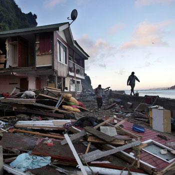 Terremoto en Chile generó tsunami