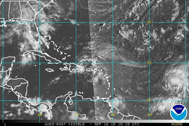 Onda tropical provocará aguaceros con tormentas eléctricas