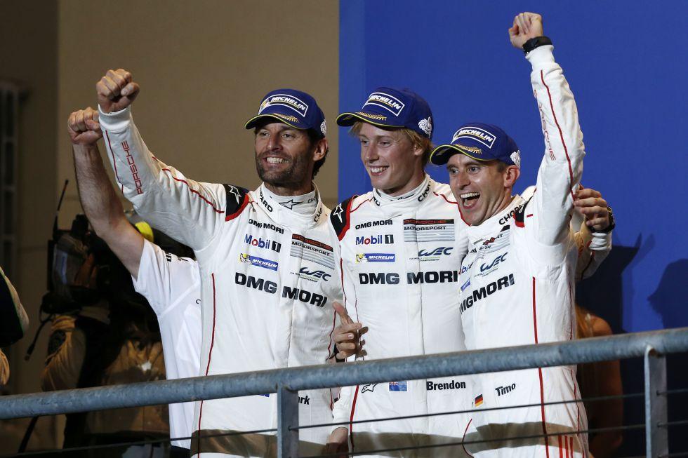 El Porsche de Webber gana las Seis Horas de Fuji y toma el mando del Mundial