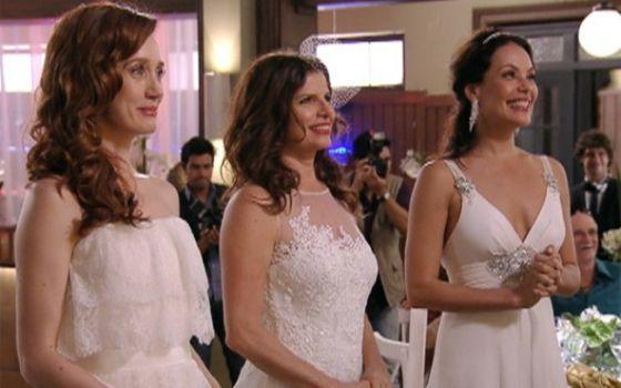 Un matrimonio entre tres desafía el modelo de