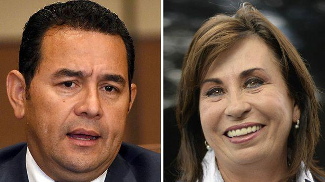 Jimmy Morales y Sandra Torres cumplen con agendas privadas previo a comicios