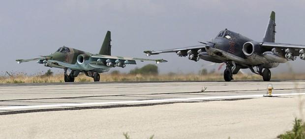 Al menos 370 muertos desde el inicio de los bombardeos de Rusia en Siria