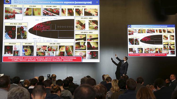 Informe final ruso sobre el MH17: