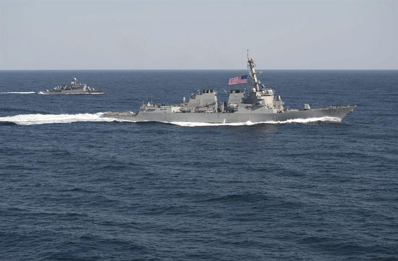 China advierte a EEUU por el envío de un buque militar a islas disputadas