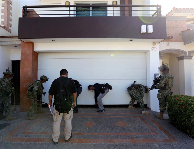 Incautan bienes y drogas del narcotraficante  Joaquín