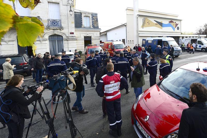 Al menos 42 muertos en un accidente de autobús en el suroeste de Francia