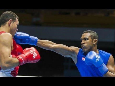 Tres cubanos se clasifican para las finales del Mundial de Boxeo de Catar