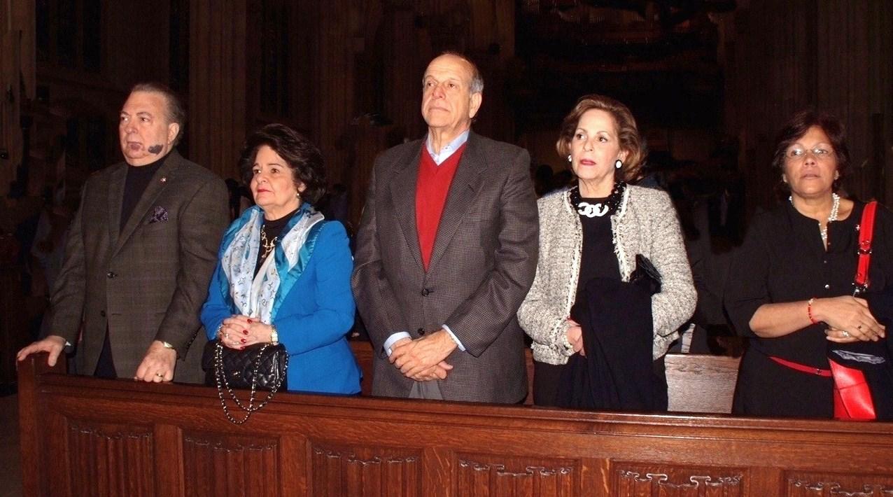 Autoridades consulares asisten a Misa de la Hispanidad en NY