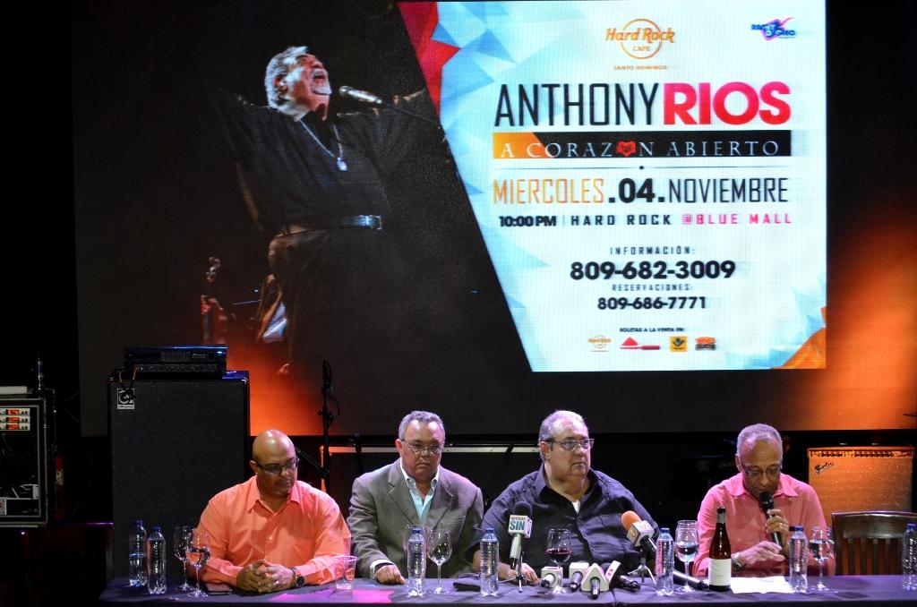 """""""A Corazón Abierto"""" regresa AnthonyRíosa los escenarios"""