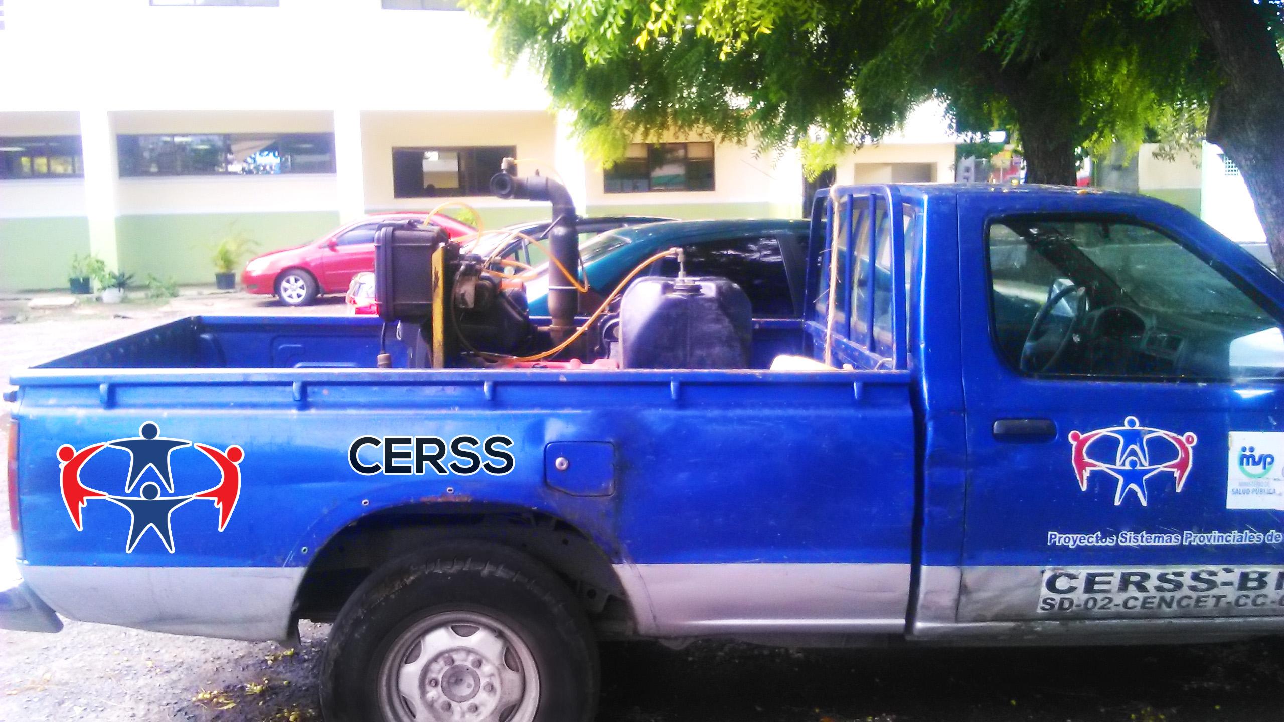CERSS  pone flotilla de vehículos al servicio del Sistema de Salud