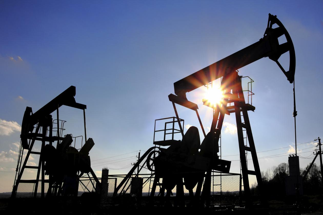 El petróleo de Texas abre con un descenso del 1,99 % hasta 45,37 dólares