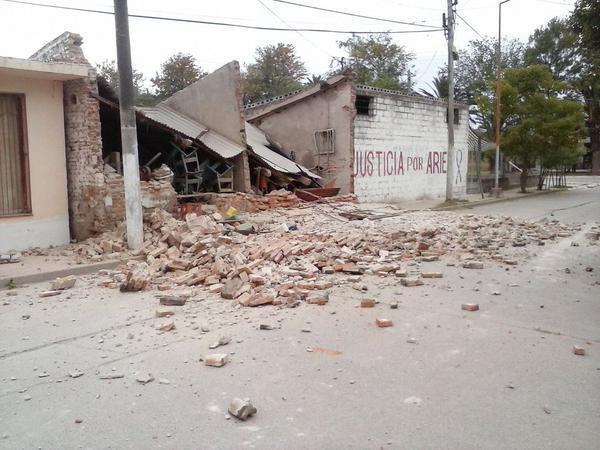 Al menos un muerto por terremoto de 5.9 grados en el norte de Argentina