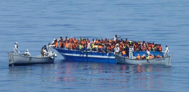 La ONU da luz verde a la misión europea contra el tráfico de migrantes