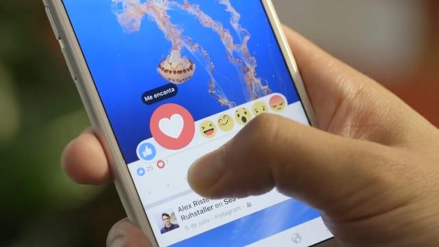 «Me encanta», «me divierte» y «me enfada» llegan a Facebook